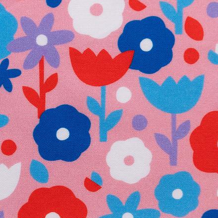 Budding Romance Poppy Scrub Caps