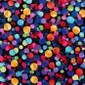 Confection Confetti Poppy Surgical Scrub Cap - Image Variant_0