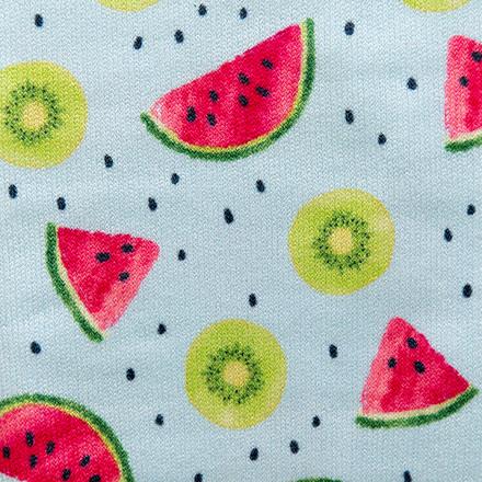 Watermelon Kiwi Splash Compression Scrubs Socks