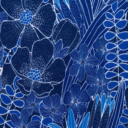 Botany Blues Compression Scrubs Socks