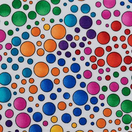 Dot To Dot Poppy Scrub Caps