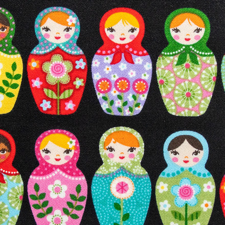 Matryoshka Dolls Scrubs Mask