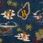 Hawaiian Islands Scrubs Mask - Image Variant_0