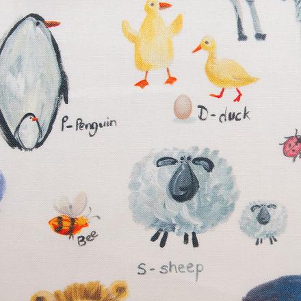 A Is For Animals Poppy Scrub Caps