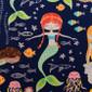 Mermaid Magic Pixie Surgical Caps - Image Variant_0