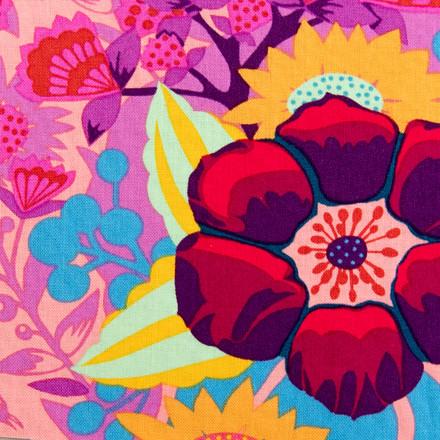 Gypsy Floral Poppy Surgical Scrub Cap