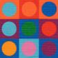 Light Bright Poppy Scrub Caps - Image Variant_0