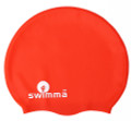 Swimma Caps - Afro Kids Midi (Red)