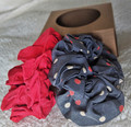 Love Thy HnS - Silk Curl Scrunchies (Polka Dot)