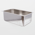 TX7054 AlphaMop Stainless Steel Rectangular Bucket