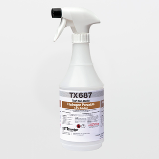 TX687 TexP 7.5% Hydrogen Peroxide RTU Solution (16 oz.)