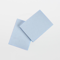 "Texwipe TX5820 TexNotes 3"" x 4"" Blue Self-Adhesive Cleanroom Notepads"