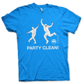 """Show everyone we """"Party Clean"""" with our SOSCleanroom.com tee shirt!"""