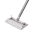 "TexMop Cleanroom Mop for 9"" x 9"" Wiper (Includes: Head, Pads, Handle, Adapter)"
