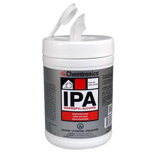 Chemtronics SIP100P IPA Presaturated Wipes (70% IPA)