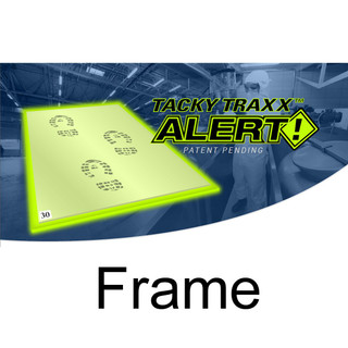 "Tacky Traxx 24"" x 31"" Alert! Glowing Edge Frame (FRAME ONLY)"