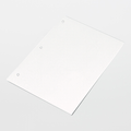 "TX5916 TexWrite Medium-Weight 8.5"" x 11"" White Cleanroom Paper 3-Hole Punched"