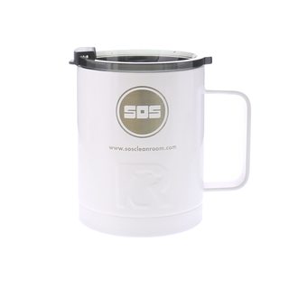 SOS RTIC Coffee Cup 12 oz. with Flip Top Shaded Lid
