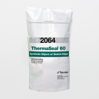"""TX2064 ThermaSeal60 4"""" x 4"""" Polyester Cleanroom Wiper"""