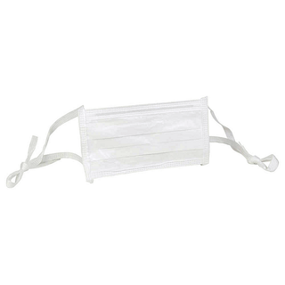 Kimtech M3 Certified Sterile Face Masks with Soft Ties, Pleat Style