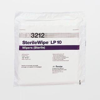 "TX3212 SterileWipe LP10 12"" x 12"" Polyester Cleanroom Wiper"