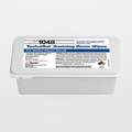 """TX1048 TechniSat 8"""" x 5"""" Cleanroom Gowning Room Wipe Pre-Wetted 6% IPA"""