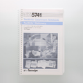 "TX5741 TexWrite 5.5"" x 8.5"" White Cleanroom Spiral Notebook"