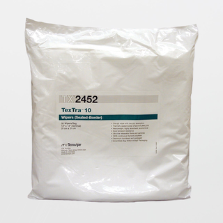 """TX2452 TexTra10 12"""" X 12"""" Polyester High Absorbency Cleanroom Wiper"""