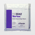"TX3042 Sterile Vertex 12"" x 12"" Polyester High Sorption Sealed Edge Wiper"