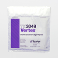 "TX3049 Sterile Vertex 9"" x 9"" Polyester High Sorption Sealed Edge Wiper"