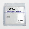 "TX8932S Sterile TexVantage 12"" x 12"" Cellulose and Polyester Cleanroom Wiper"
