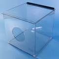 """12""""W x 12""""H x 12""""D - Cleanroom Dispenser with Opening (Shelf or Metro Rack)"""