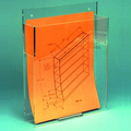 Cleanroom Document-Folder-Binder Dispenser (Vertical)