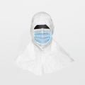 DuPont Tyvek IsoClean Sterile Hood/Mask Combo