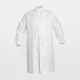 DuPont Tyvek IsoClean Sterile Frock (Raglan Sleeves / Snaps in Front / Collar)
