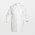 DuPont Tyvek IsoClean Standard Frock (Set Sleeves / Snaps in Front / Collar)