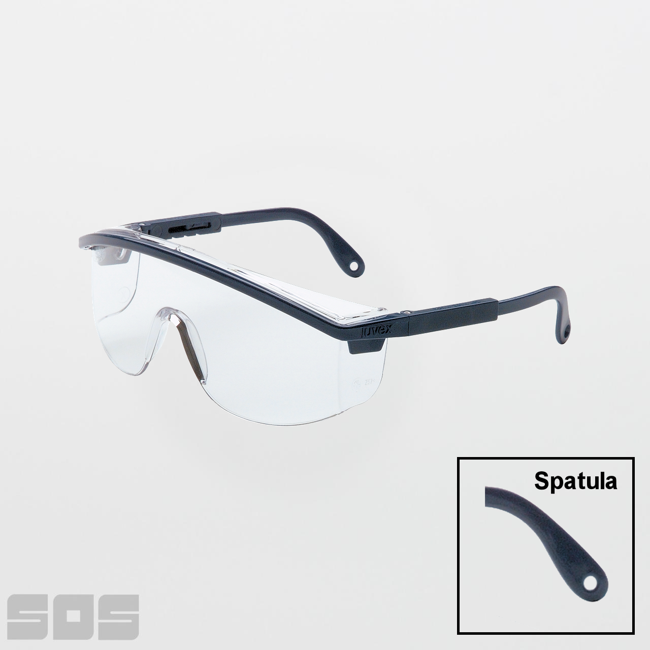 c428a39a2ff2 UVEX Astrospec 3000 Clear Safety Glasses (Anti-Scratch). Larger   More  Photos