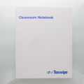 "TX5708 TexWrite 8.5"" x 11"" Blue Cleanroom Notebook"