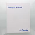 """Texwipe TX5708 TexWrite 8.5"""" x 11"""" Blue Cleanroom Notebook"""