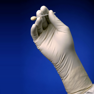 "Cleanroom STN1000W Series 12"" Sterile Nitrile Gloves (Bulk Packed)"
