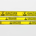 Aisle Warning Tape for ESD Areas