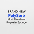 Cleanroom PolySorb Sponge (100% Textured Polyester / Absorbent)