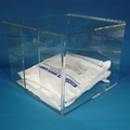 "12""W x 10""H x 13""D - Cleanroom Apparel Dispenser with Front Opening"