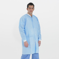 Polypropylene SMS Lab Coat (3 Layer Polypropylene)