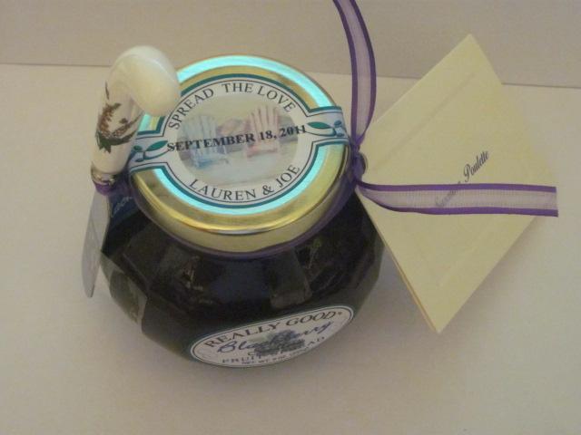 really good custom label for lauren and joe wedding, spread the love