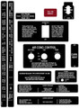 Piper PA-28 Series interior decal set. Sheet 1 of 4.