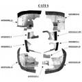 Cessna 172R Engine Baffles