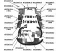 Cessna 206 Engine Baffles. Cessna 0750117-31, 0750135-1, 0750135-3, 0750135-4, 0750152-3, 0851700-96, 1250134-2, 1250961-5, 1250966-1, 1250966-3, 1255008-12, 1255008-20, 1255008-22, 1255009-8, 1255010-10, 1255011-5, 1255011-51, 1255020-1,  1255025-1, 1255026-1, 1255028-1, 1255032-1, 1255032-2, 1255032-3, 1255032-4