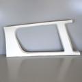 Rear Left Window Moulding, 25417-00