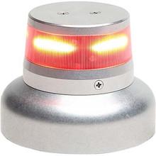 """Whelen ORION 360 Beacon Red LED Beacon 28 VDC, 3.75"""" Base Lower Mount."""